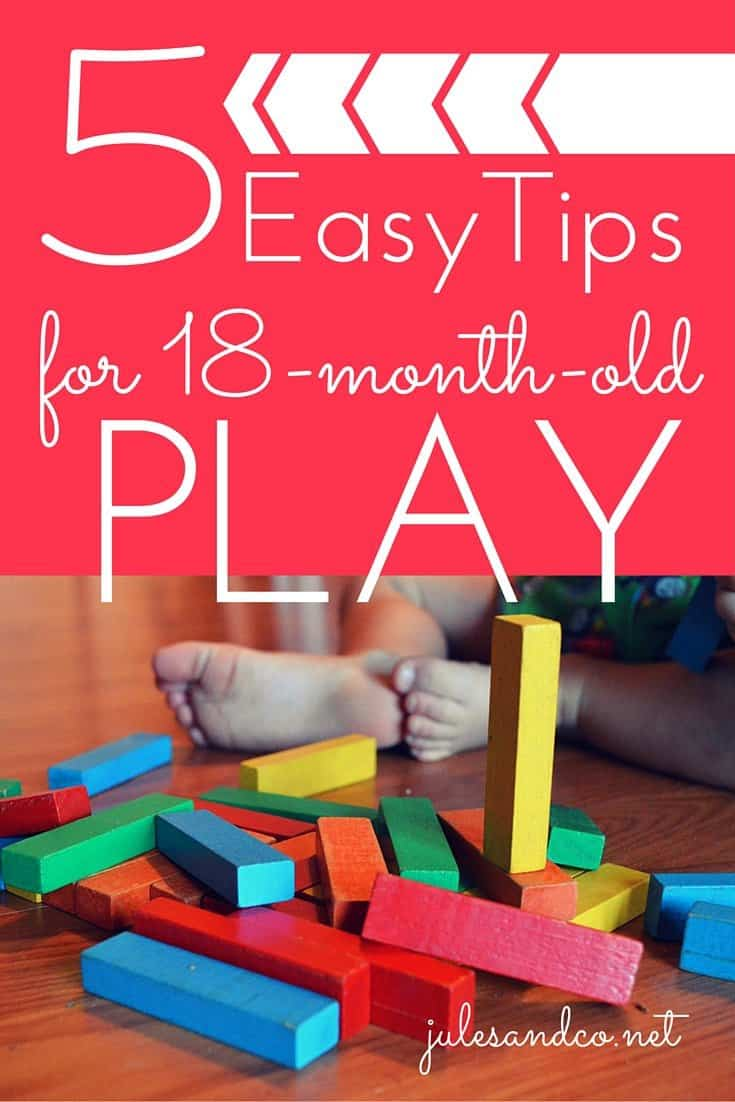Are you struggling to help your young toddler transition to independent play? Get a game plan to make the switch from baby play to toddler play easier! I use these strategies to support play and development for my 18 month old.
