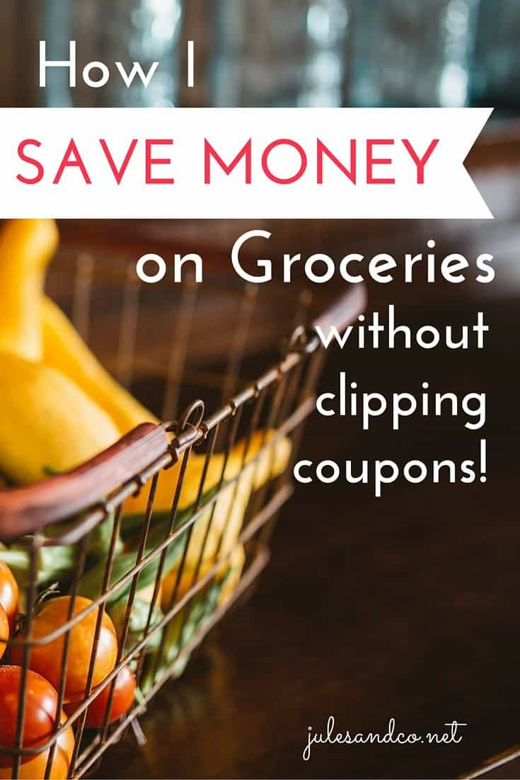 Is your grocery budget eating you for lunch? I'm all about saving money on groceries, but can I be honest? I hate coupons! I have a simple, three step plan to save money on my grocery bill. Frugal grocery shopping doesn't have to be overwhelming!