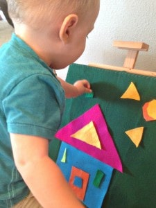 DIY Felt Board Plus 3 Easy Toddler Activities Creative Play- julesandco.net