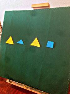 DIY Felt Board Plus 3 Easy Toddler Activities Patterns- julesandco.net