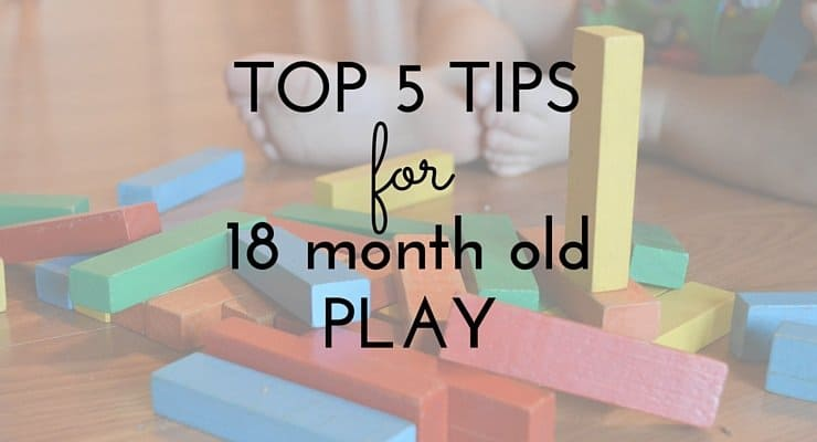 5 Easy Tips for 18 Month Old Play