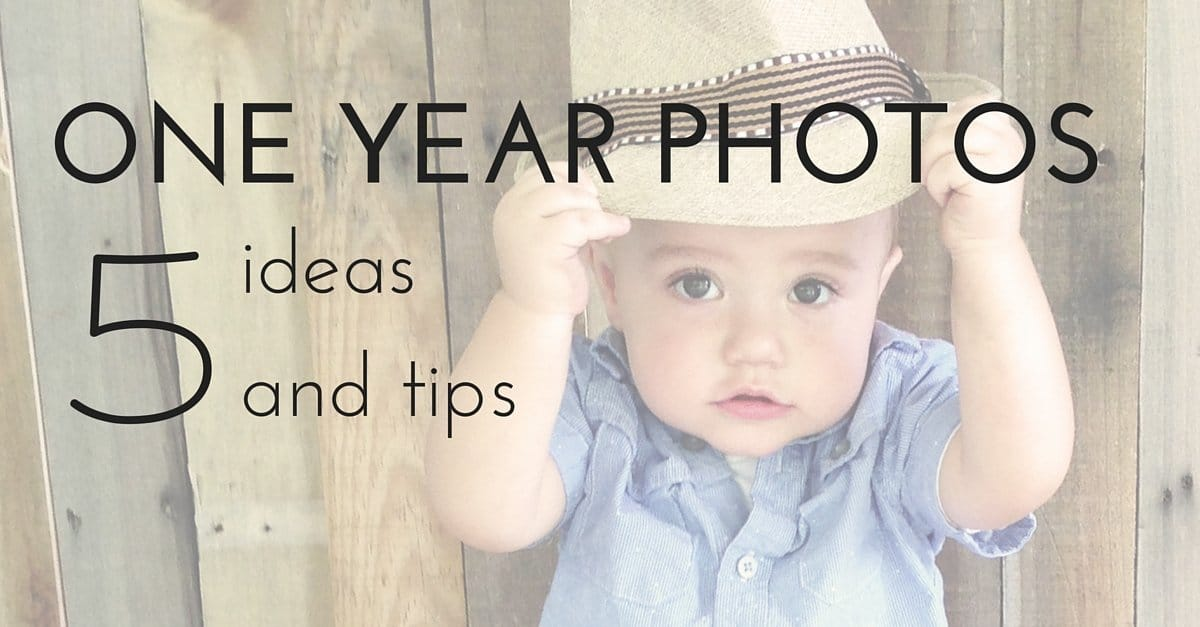 One Year Old Photos 5 Easy Ideas And Tips For The 1st Birthday