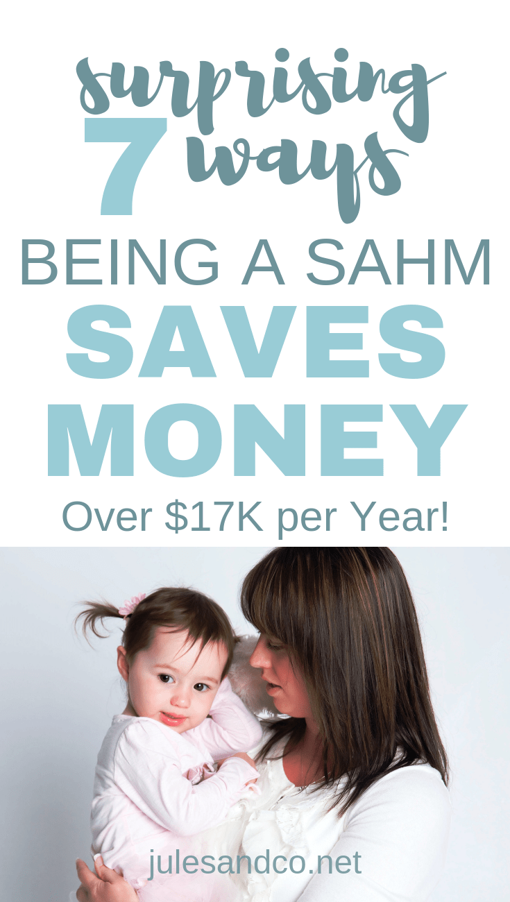 7 Surprising Ways Being a Stay at Home Mom Saves Money   Looking for SAHM inspiration! Saving money is one of the best reasons to stay home with your kids!