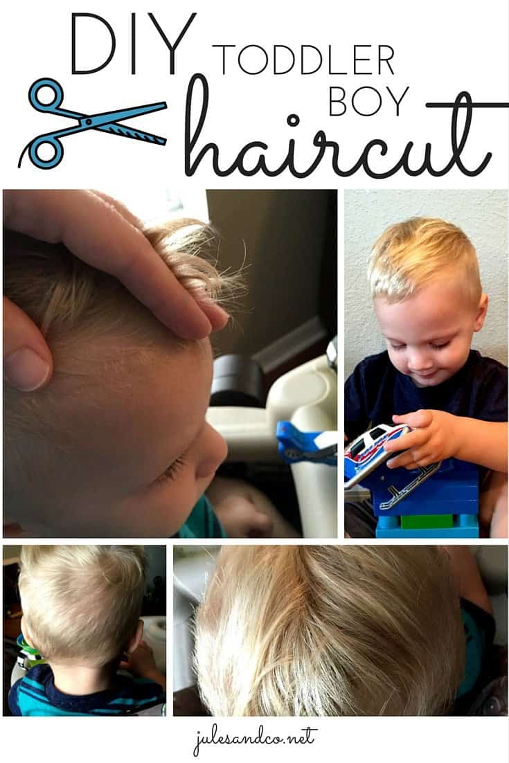 Diy Toddler Boy Haircut Jules Co