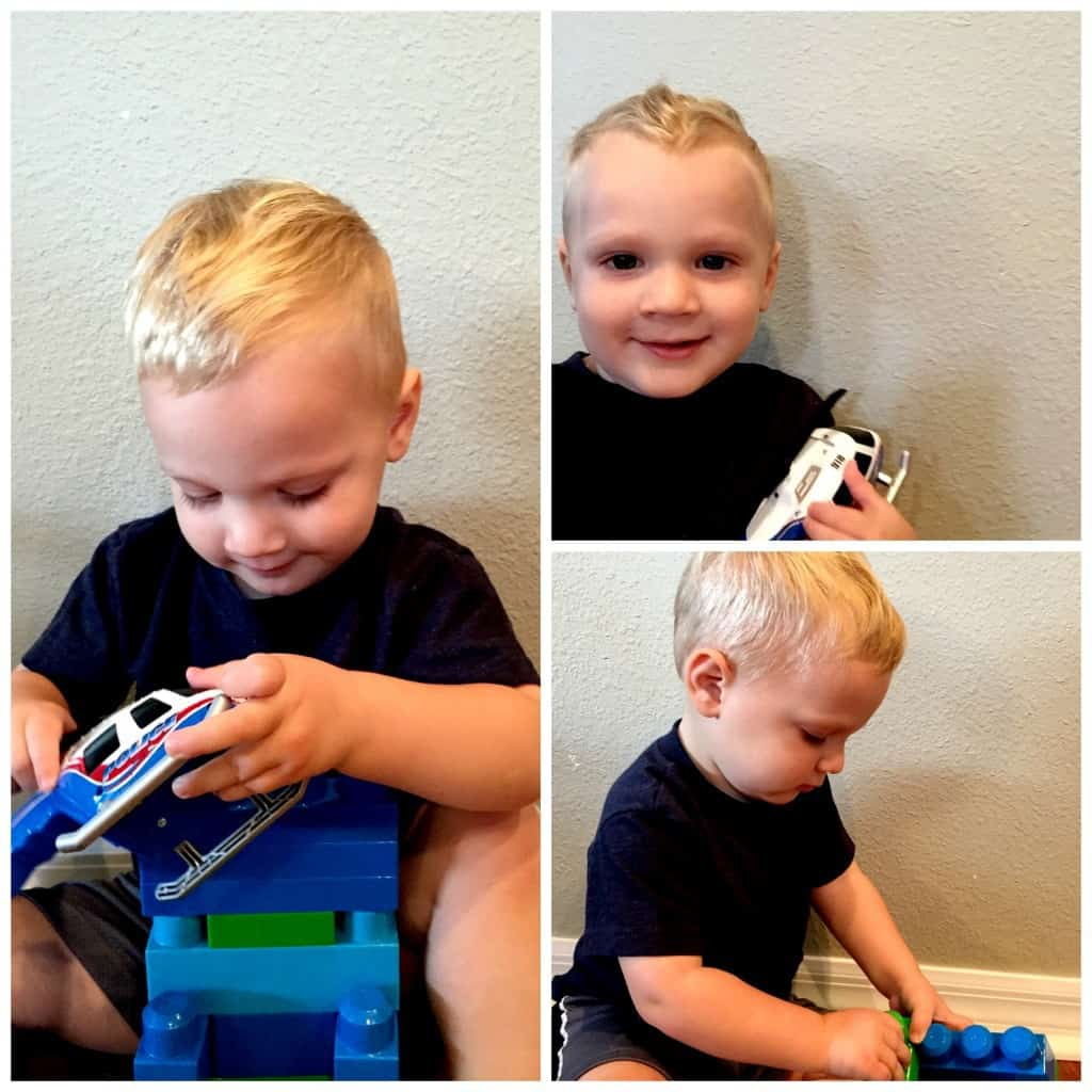DIY Toddler Boy Haircut | julesandco.net