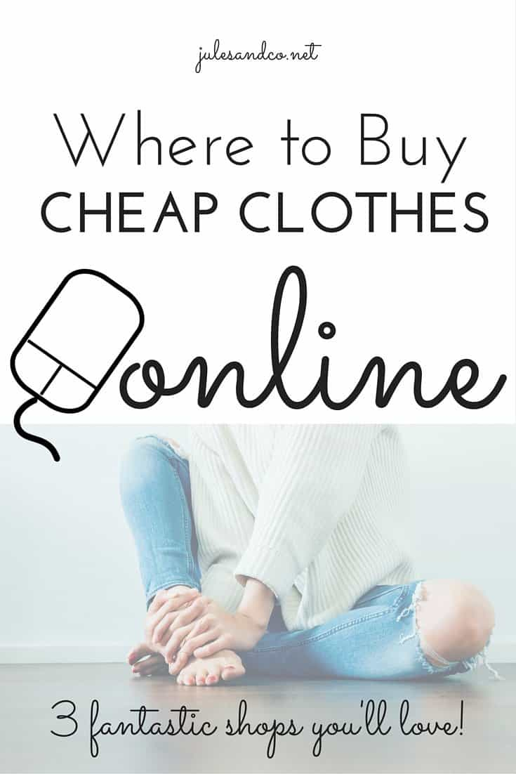 Cheap online clothing websites