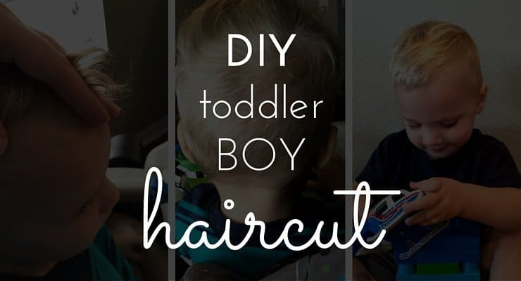 DIY Toddler Boy Haircut