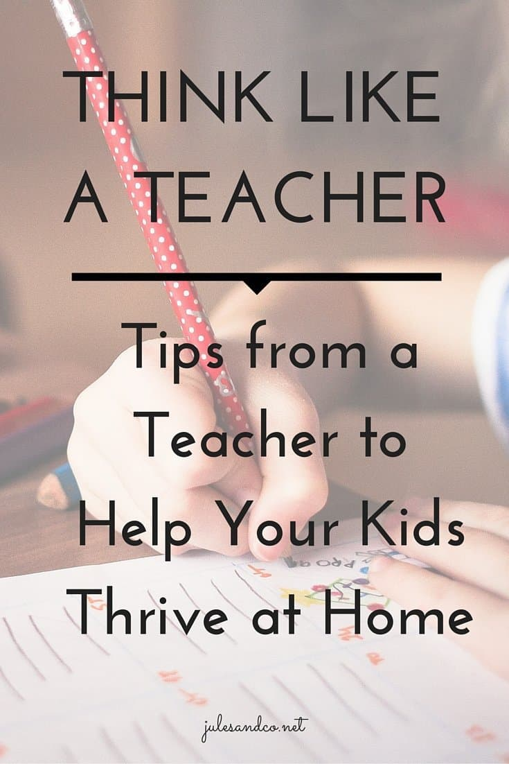 Use these teaching strategies at home to help your kids thrive!