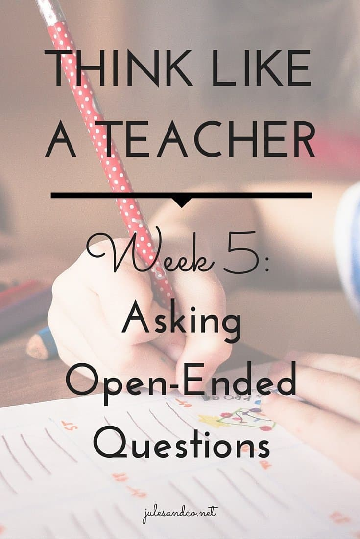 Need a few tips to ask better questions? Open-ended questions engage your kids and help them think! Try this teacher tip you can easily use at home.