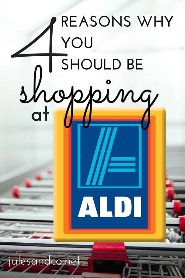 Have you tried Aldi yet? I'm officially obsessed, so here are my top four reasons why your next grocery trip should be at Aldi! Read on to find out why...