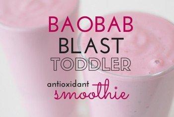 Baobab Blast Toddler Antioxidant Smoothie