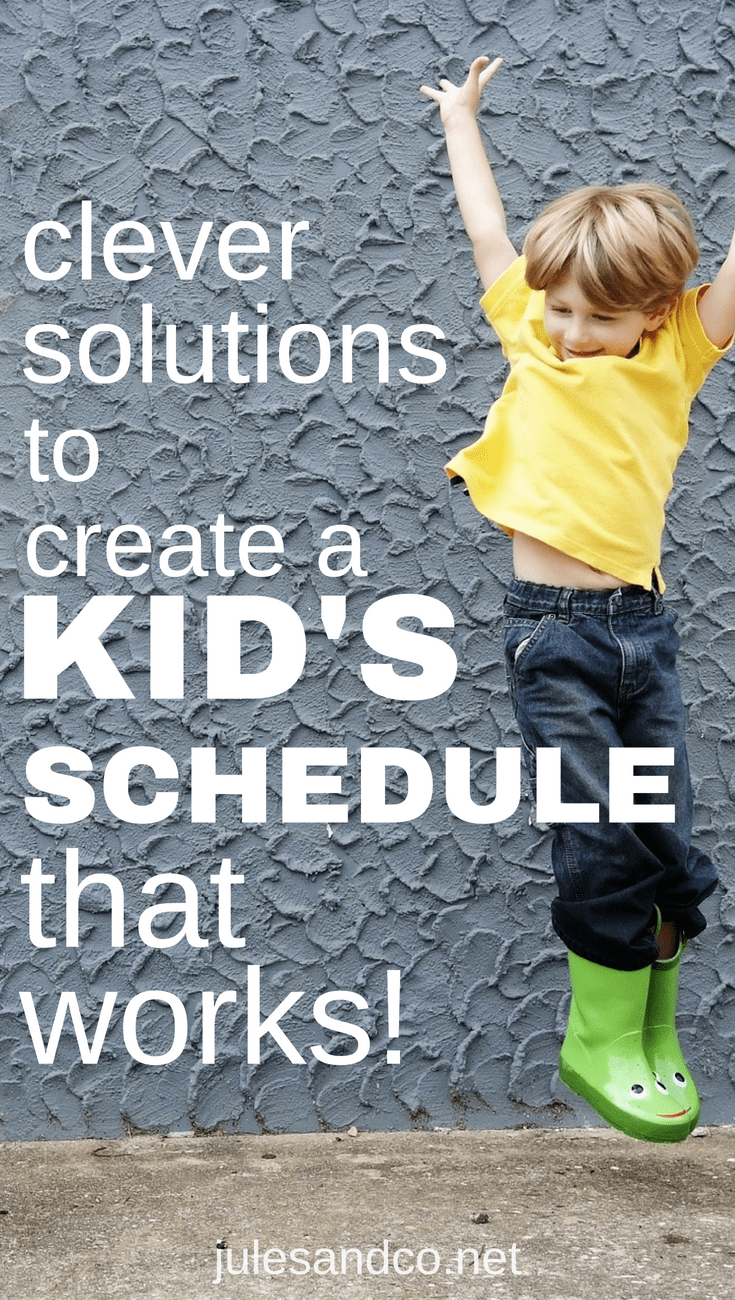 Daily chaos at home with kids got you reeling? You'll love these simple solutions to get your kids schedule or routine back on track! Learn three rules for routines, plus tips and tricks to manage difficult transitions within your child's daily routine.