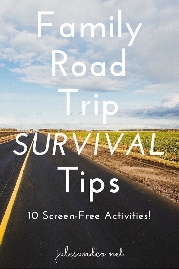 Don't pull out that iPad just yet! If you're searching for screen-free travel activities for kids, search no longer, my friend. I've got 10 portable ideas, perfect for family road trips or car rides.