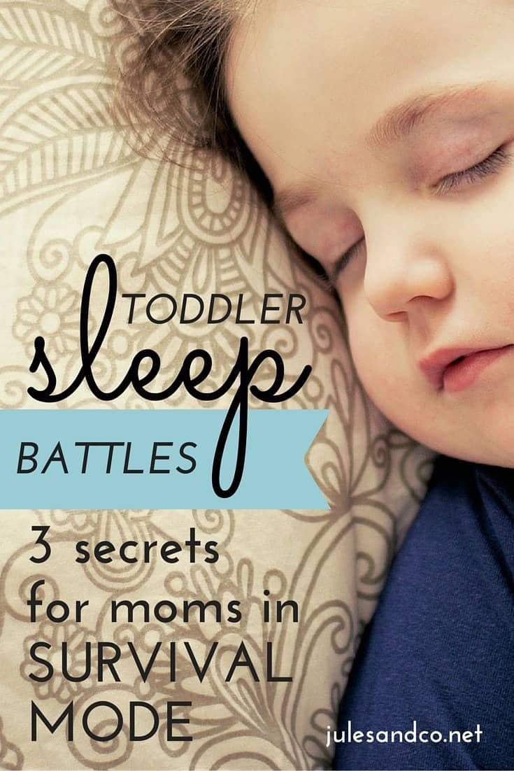 Toddler sleep issues can put any mama on edge! You, my friend, are in need of some encouragement! These three pieces of advice for moms will help you transform your perspective and get your mojo back. Don't let bedtime battles steal your confidence as a mom!