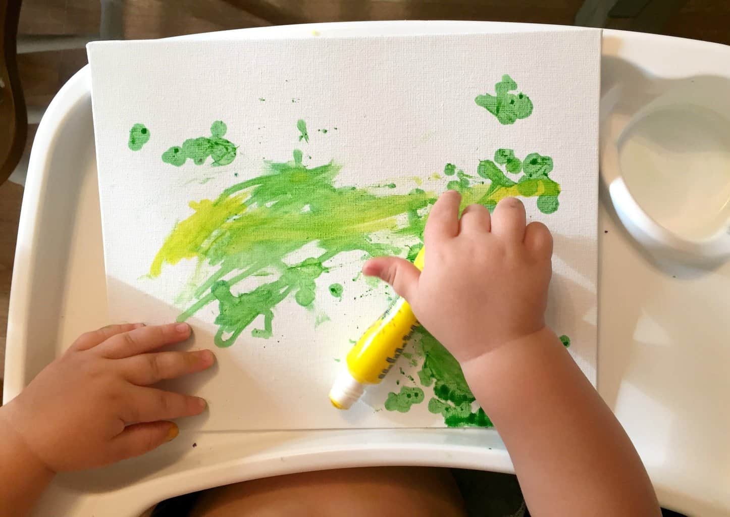 toddler painting 2