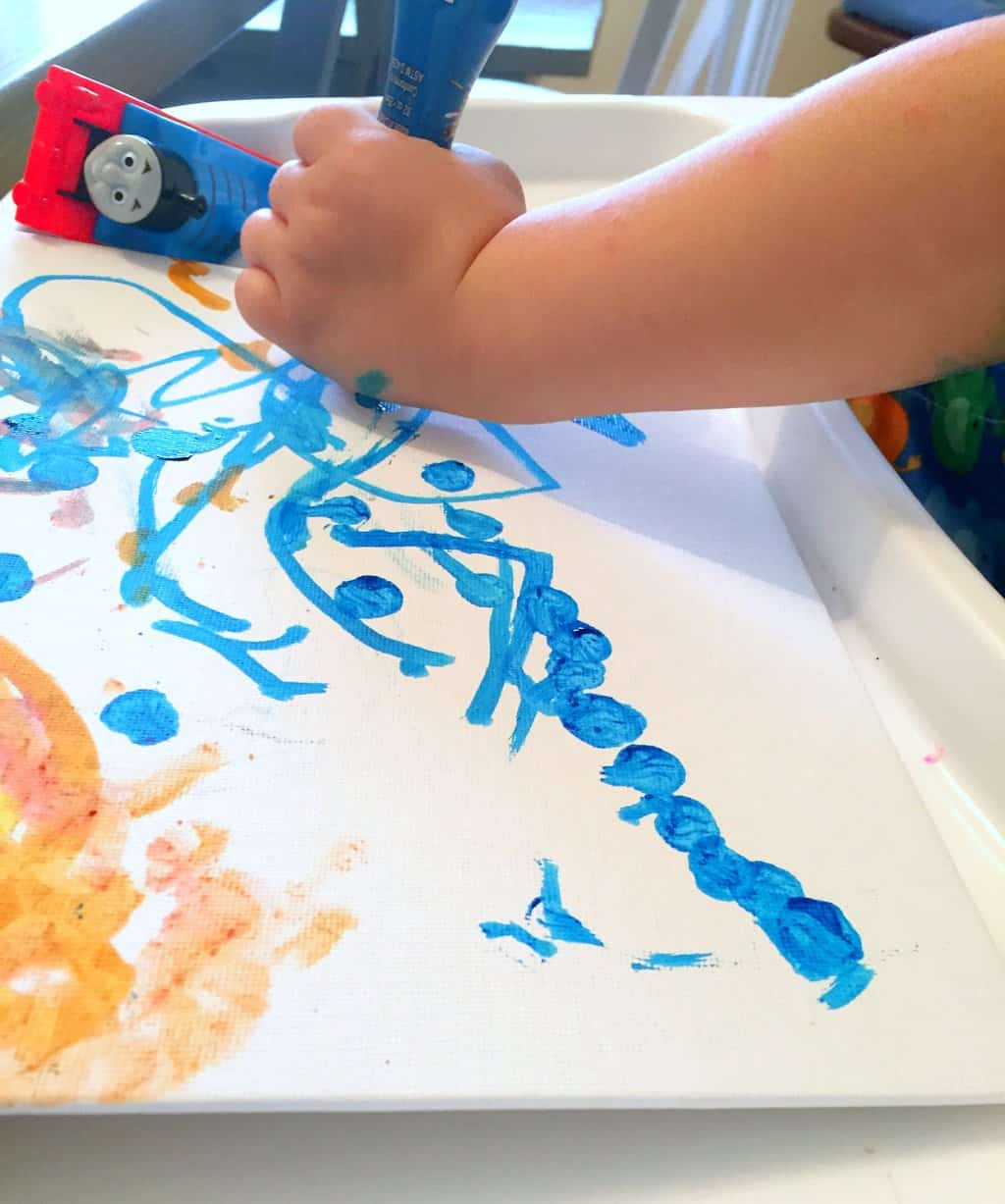 toddler painting 4