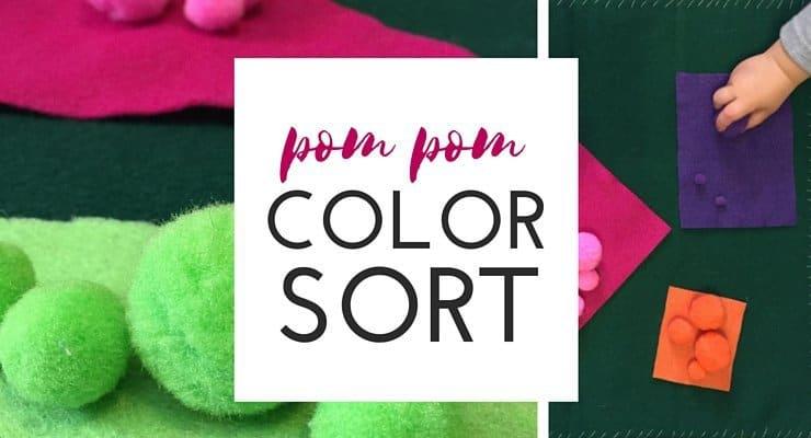 Pom Pom Color Sorting