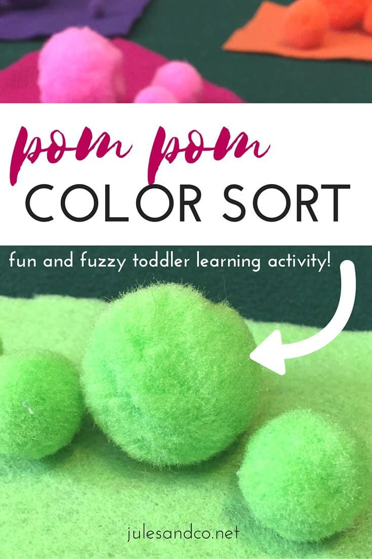 Pom Pom Color Sorting | Jules & Co