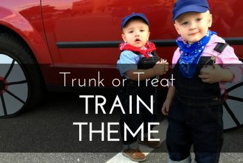 Trunk or Treat Train Theme (Ideas and Inspiration!)