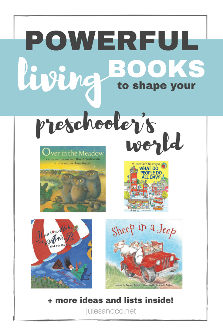Great books have the power to shape your children's world. Looking for the perfect book for your toddler or preschooler? Find one that brings your little one to life with my top picks for living books for toddler and preschoolers. Read on for a few of our favorites plus my go-to book list resources!