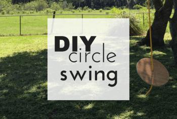 DIY Circle Swing Tutorial