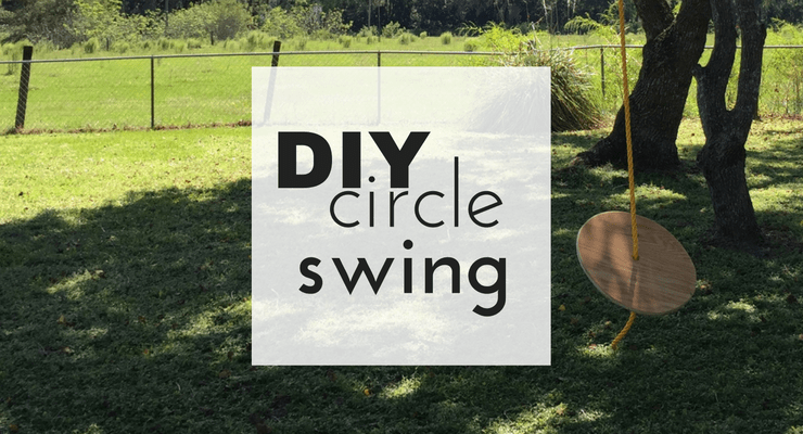 DIY Circle Swing Tutorial