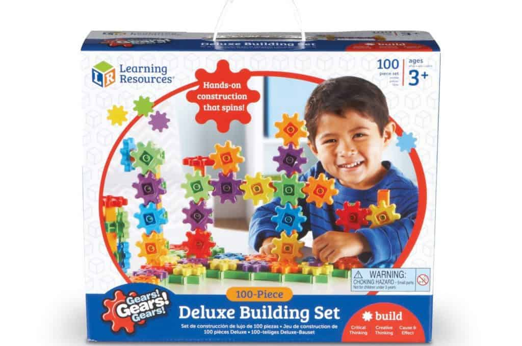 Learning Resource Gears Deluxe Building Set