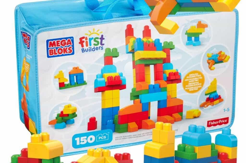 Mega Bloks Deluxe Building Bag, 150-Piece