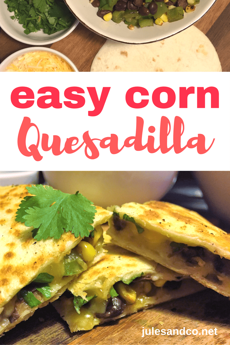 Looking for a quick and healthy lunch idea for the kids? Try this simple quasadilla recipe using Fresh from Florida corn and peppers! #FreshFromFlorida #IC #Ad