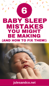 Newborn not sleeping? You may be making these crucial baby sleep mistakes! There's no manual for your new baby, but there are a few simple habits you can start right now to learn how to make your newborn sleep better. Learn how to get your newborn to sleep without being held, and help your baby be a confident sleeper!
