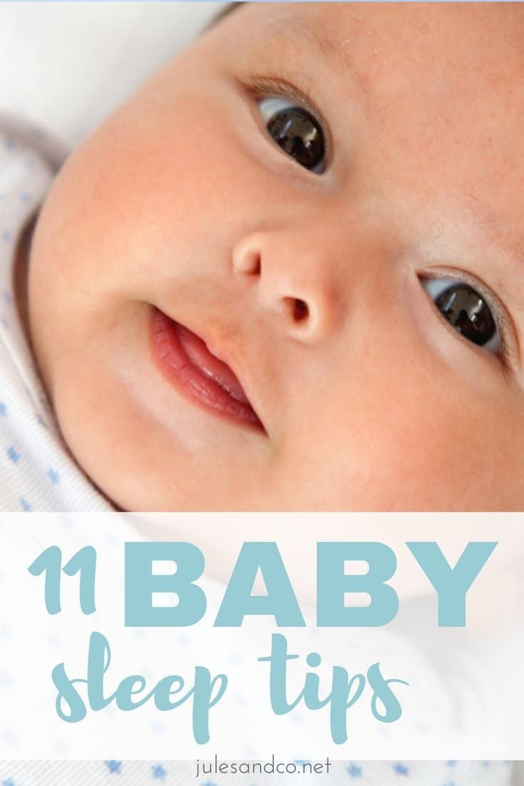 Need baby sleep advice? I'll best you haven't tried all of these baby sleep tips. These strategies are sure to get your baby sleeping like a baby in no time! #Sponsored