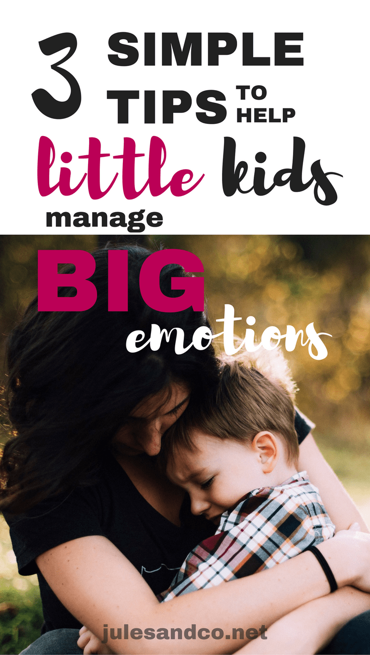 When your toddler or preschooler throws a tantrum, they can sometimes feel out of control. Parenting little kids comes is hard! They come with BIG emotions, and no instruction manual! Try these three positive parenting tips to help stop tantrums and teach your child to take control of his emotions.