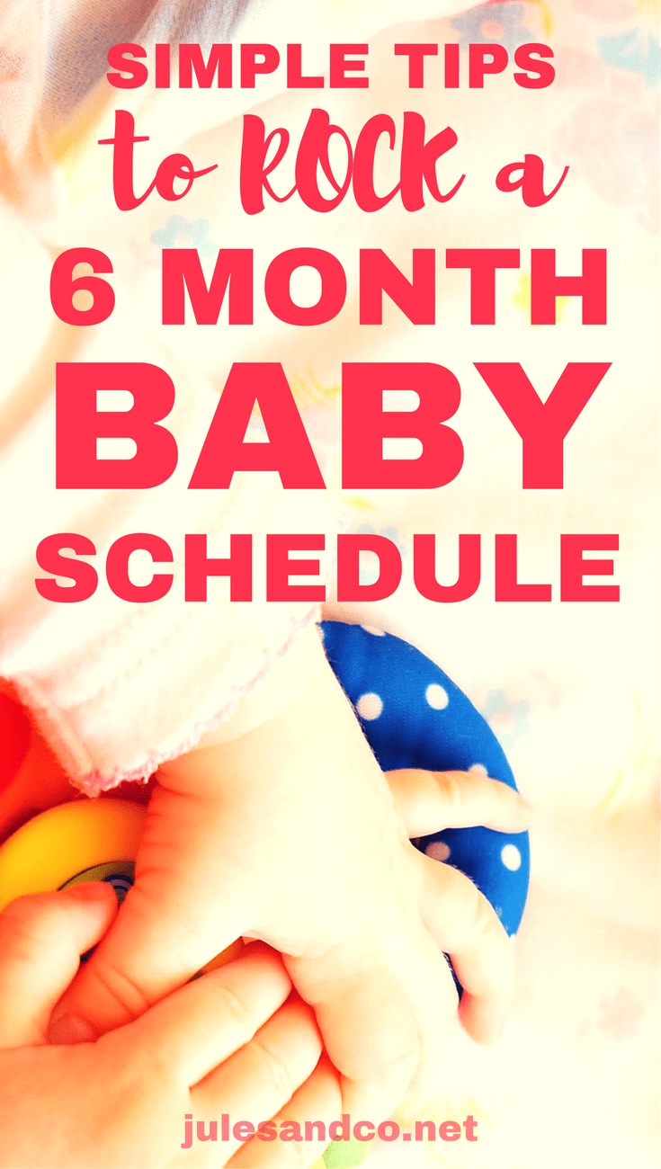 Struggling to manage your 6 month old sleep schedule? Your baby is growing and changing so fast! Try these simple routines and tips to get your groove back, manage your baby's changing needs, and create a 6 month old schedule.