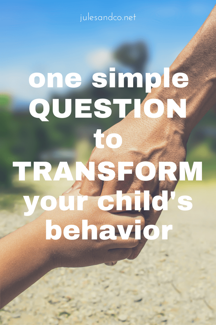 Struggling with tantrums, meltdowns, or power struggles? This one simple question will help you connect with your disobedient child and transform his behavior! And it's not what you think! Try this parenting tip to win back your child's heart.