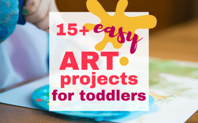 15+ Toddler Process Art Projects so Easy They'll Make You Love Pinterest Again!