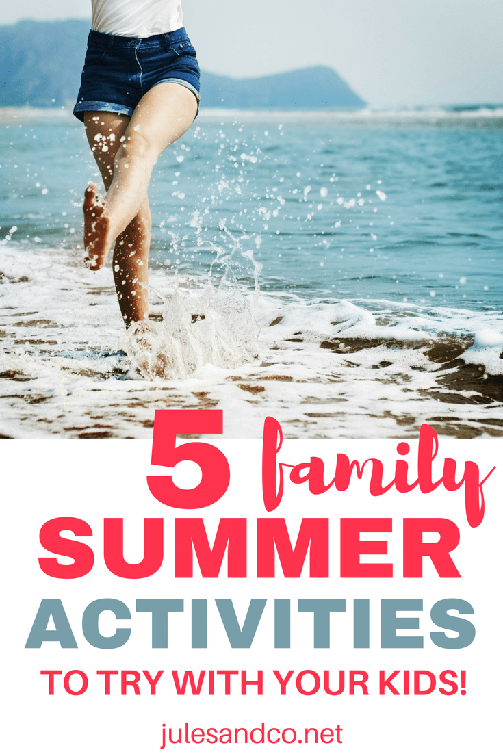 Looking for ways to slow down and connect with your kids this summer? You'll love these family-friendly ideas for making this summer one to remember. Click through to read five family summer activities you can try at home!