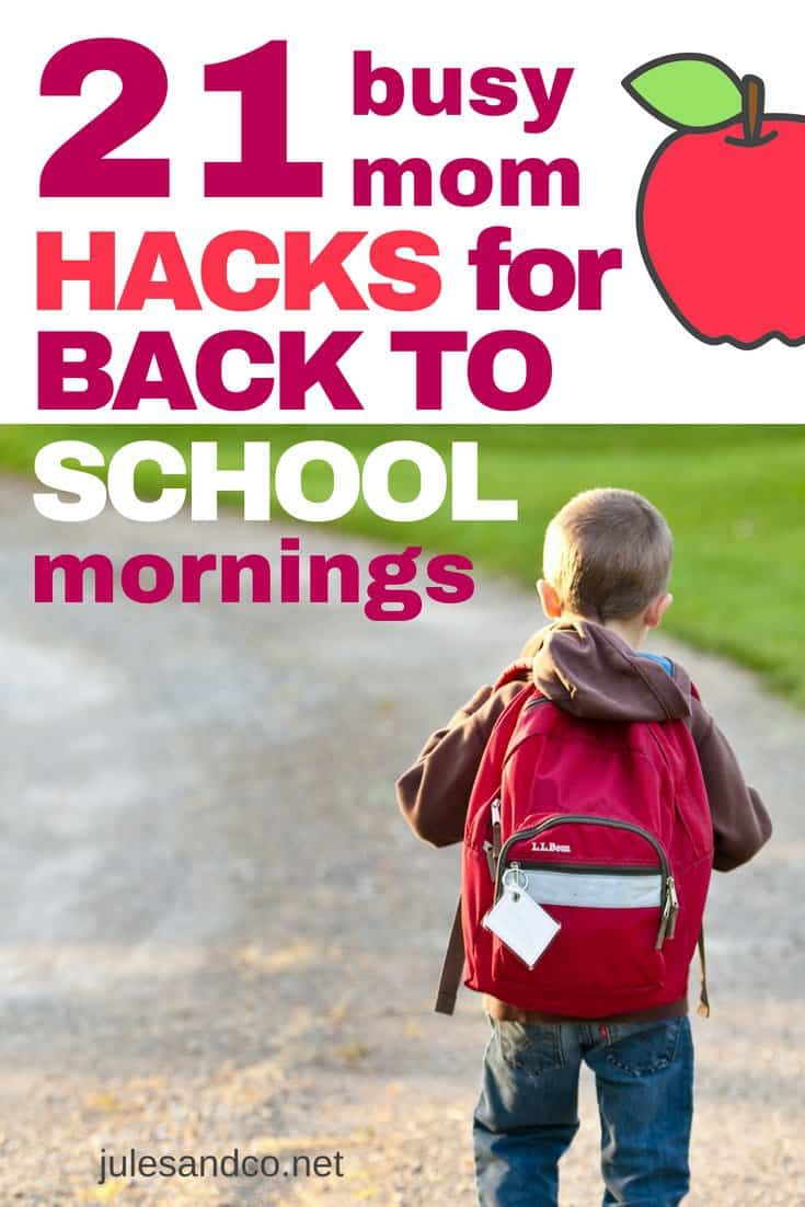Getting kids ready in the morning can be like herding cats. What you need is a plan to smooth out those crazy mornings! Do your kids have a morning routine for school? Steal these back to school tips and hacks to help you get out the door on time this school year.