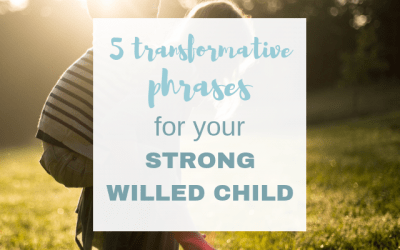 5 Transformative Phrases for Your Strong-Willed Child