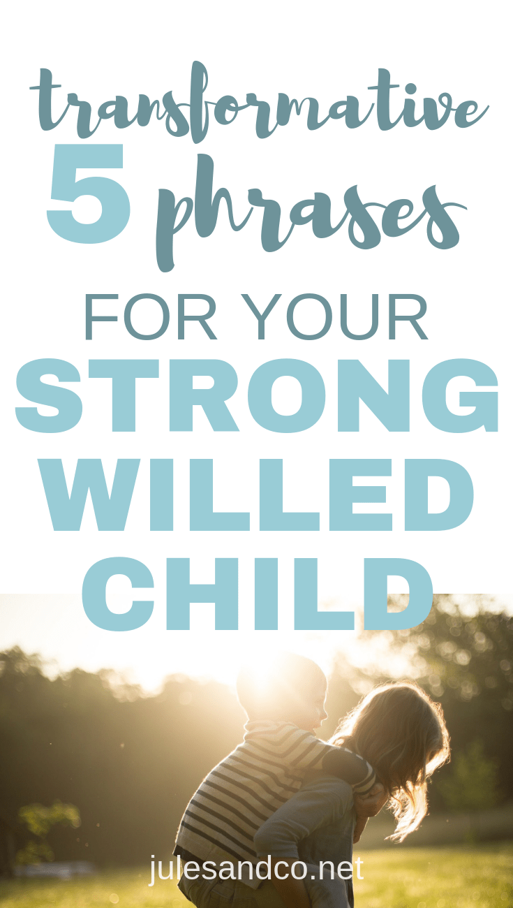 Life with a strong-willed child can be exhausting. With constant power struggles and battles of the will, it's tempting to just throw in the towel. But parenting a strong-willed child doesn't have to be isolating or overwhelming. Your child is a diamond in the rough. Try these simple parenting phrases and watch as your relationship with your child is transformed!