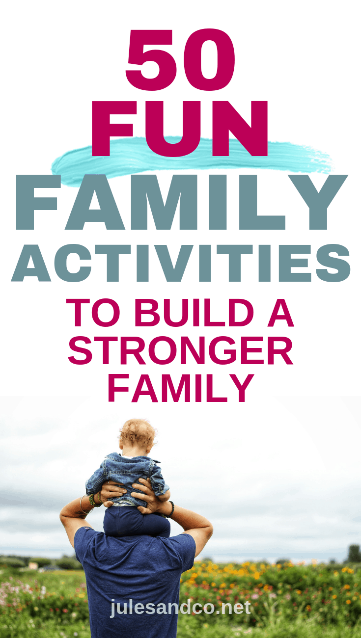 Families that have fun together stay together! Searching for ways to knit your family together through shared fun experiences? You don't have to stray far from home to create amazing memories together. Try these fun family activities at home to build a stronger family.