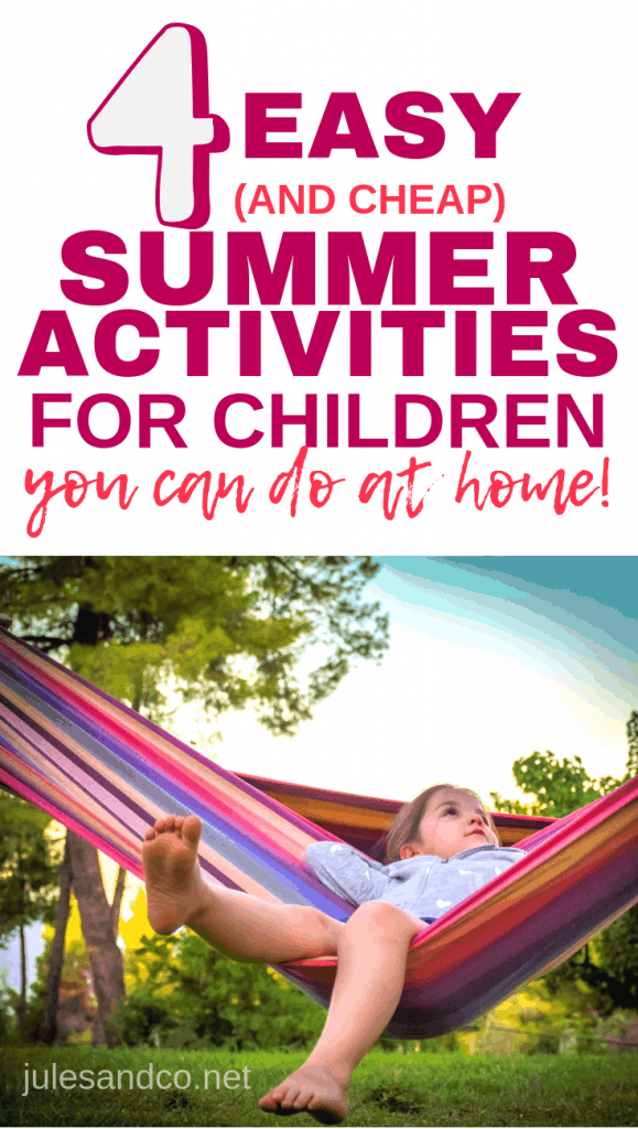 Need ideas for summer activities for children? You don't have to dread all the time your kids will be spending at home during the summer months! Find tips on how your kids can thrive at home this summer.