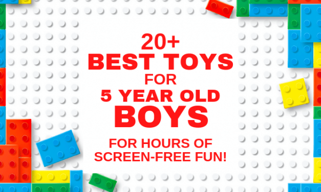 20+ Best Toys for 5 Year Old Boys You Haven't Seen (2019)