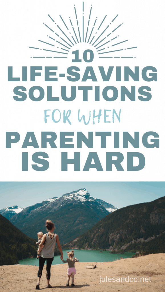 Modern parenting is hard, isn't it? From overbooked schedules to overwhelming expectations, you've got a tough job ahead of you. Feeling the strain? Let's get real. Why is parenting so difficult? And what can you do to make it easier? Read on for ten life-saving solutions when being a mom is hard!