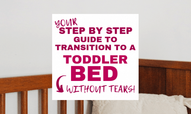 Rock the Toddler Bed Transition with this Step by Step Guide!
