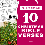 Enjoy these classic printable Christmas Bible verses for preschoolers and kids this season. These lovely printable cards will help teach your child the true Christmas story. Even little children can learn about the heart of Christmas with these simple Christmas Bible verses!