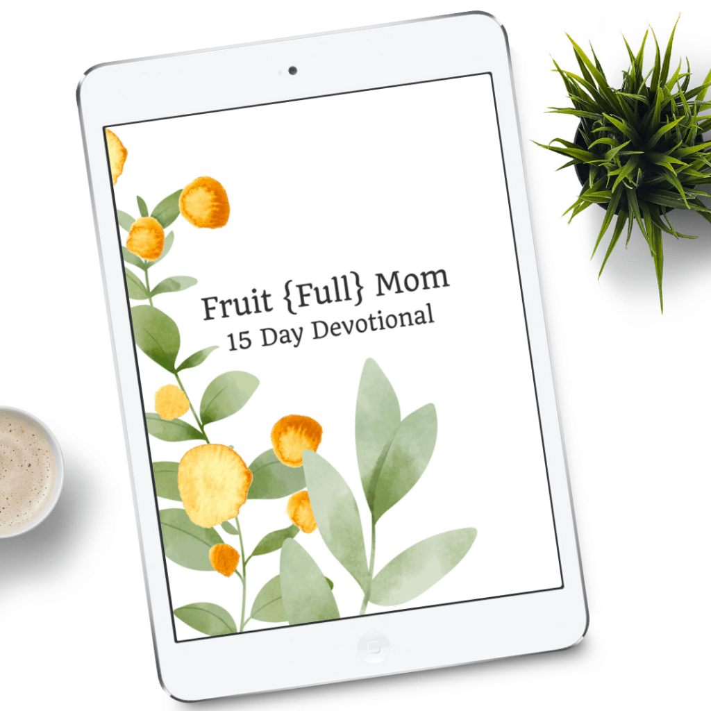 Dig deep and grow with this Fruit of the Spirit devotional. 15 days of challenging, inspiring Bible study to help you abide and grow in the Lord.
