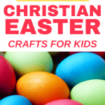 Bring your Easter celebration to life with these beautiful religious Easter crafts and activities for kids! Celebrate the resurrection of Jesus, learn the story of Easter, and help your kids connect with their risen Savior with these Christ-centered activities!