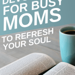 Searching for devotionals for moms? Finding space in your day for quiet time is sometimes next to impossible. These daily devotionals for women will ignite your faith and refresh your soul. Peek inside to find the best mom devotionals you've been waiting for!