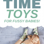 Stressing out about tummy time? Take a breath. Help is on the way! You'll love our best tummy time toys and tips to keep even the fussiest baby happy! Learn all about tummy time, when to start, and what to do when your baby doesn't like tummy time!