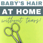 Whether it's your baby's first haircut or you're just looking to give your toddler a trim at home, there are a few tricks to make a toddler or baby hair cut at home much easier! Before you pick up those scissors or clippers, read this to save yourself (and your baby or toddler!) a ton of heartache.